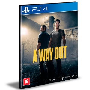 A Way Out  Português Ps4 e Ps5 Psn  Mídia Digital