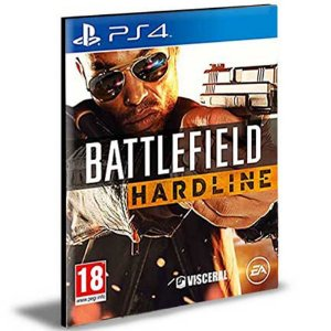 Battlefield Hardline Ps4 e Ps5 Psn Mídia Digital