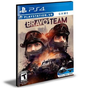 Bravo Team VR | Ps4 | Psn | Mídia Digital