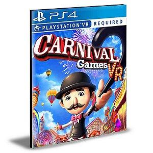 Carnival Games VR|Ps4|Psn|Mídia Digital