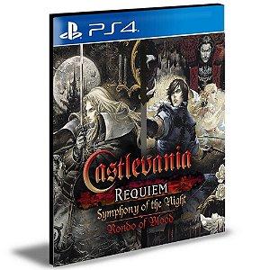 Castlevania Requiem Symphony Of The Night & Rondo Of Blood Ps4 e Ps5 Psn Mídia Digital