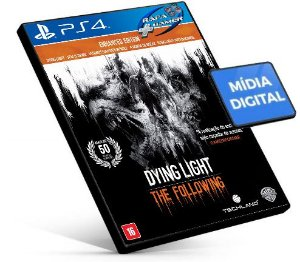 DYING LIGHT  THE FOLLOWING ENHANCED EDITION | PS4 | PSN | MÍDIA DIGITAL