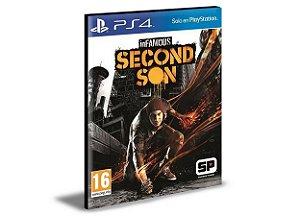 INFAMOUS SECOND SON PS4 e PS5 PSN MÍDIA DIGITAL