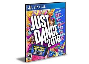Just dance 2016 Ps4 Psn Mídia Digital
