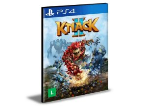 Knack 2 Português PS4 e PS5 PSN MÍDIA DIGITAL