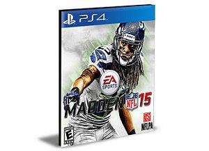 MADDEN NFL 15 PS4 PSN MÍDIA DIGITAL