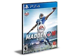 MADDEN NFL 16 PS4 PSN MÍDIA DIGITAL