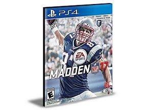 MADDEN NFL 17 PS4 PSN MÍDIA DIGITAL