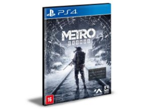 Metro Exodus PS4 e PS5 PSN MÍDIA DIGITAL