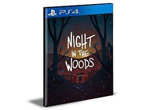 Night in The Woods Ps4 e Ps5  Psn  Mídia Digital