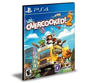 OVERCOOKED 2 Ps4 e Ps5 Psn  Mídia Digital