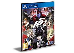Persona 5 PS4 e PS5 PSN  MÍDIA DIGITAL