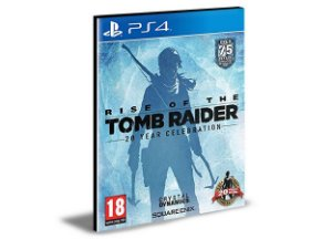 Rise of The Tomb Raider 20 Year Celebration Ps4 e Ps5  Psn  Mídia Digital