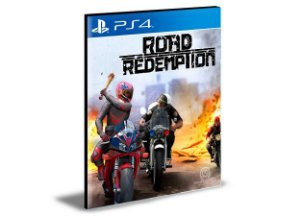 Road Redemption Ps4 e Ps5  Psn  Mídia Digital