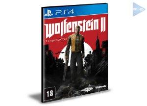 Wolfenstein 2 The New Colossus | Ps4 | Psn | Mídia Digital