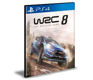 WRC 8 Fia World Rally Championship  Ps4 e Ps5 Psn  Mídia Digital