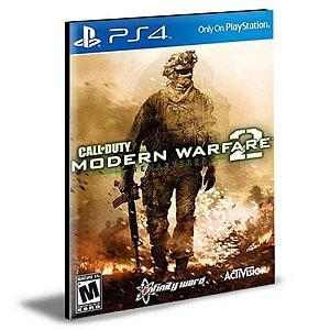 Call of Duty Modern Warfare 2 Campaign Remastered Ps4 e Ps5 Psn Mídia Digital