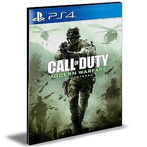 Call of Duty Modern Warfare Remastered Português Ps4 e Ps5 Psn Mídia Digital