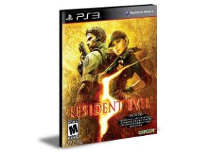 RESIDENT EVIL 5 | Ps3 | Psn | Mídia Digital