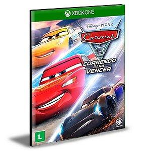 Carros 3 Correndo para Vencer Português Xbox One e Xbox Series X|S MÍDIA DIGITAL