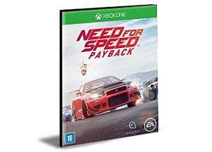 Need for Speed Payback  Português Xbox One e Xbox Series X|S Mídia Digital