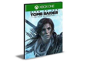 Rise of the Tomb Raider 20 Year Celebration Português Xbox One e Xbox Series X|S   MÍDIA DIGITAL