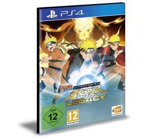 NARUTO SHIPPUDEN Ultimate Ninja STORM Legacy PS4 e PS5 PSN Mídia Digital