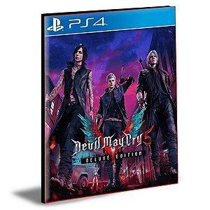 Devil May Cry 5 Deluxe Edition Português Ps4 e Ps5 Psn Mídia Digital