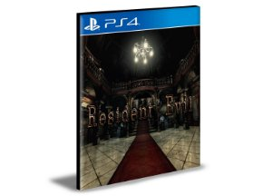 Resident Evil PS4 e PS5  PSN  MÍDIA DIGITAL