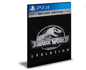 Jurassic World Evolution Deluxe Edition PS4 e PS5 PSN MÍDIA DIGITAL