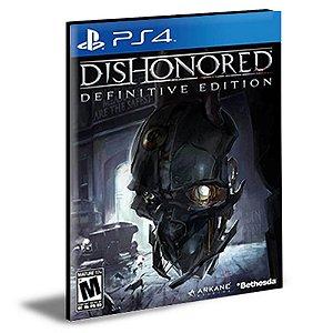 Dishonored Definitive Edition Ps4 e Ps5 PSN MÍDIA DIGITAL