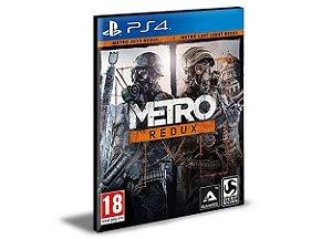 Metro Redux PS4 e PS5 PSN MÍDIA DIGITAL