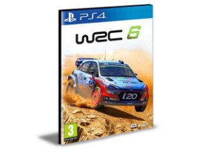 WRC 6 Português PS4 e PS5 PSN  MÍDIA DIGITAL