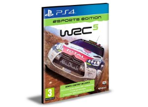 WRC 5 eSports Edition Ps4 e Ps5 Psn  Mídia Digital