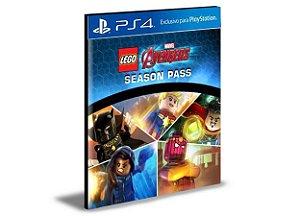 Season Pass LEGO Marvel's Avengers PS4 PSN MÍDIA DIGITAL