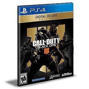 Call of Duty Black Ops 4 - Digital Deluxe Português Ps4 e Ps5 Psn Mídia Digital