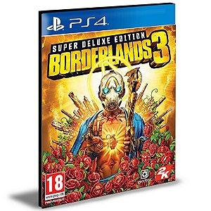 Borderlands 3 - Edição Super Deluxe Ps4 e Ps5  Psn  Mídia Digital Português