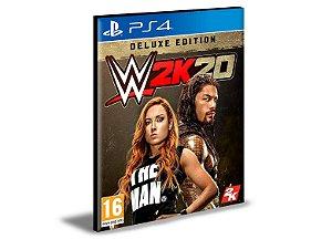 WWE 2K20 Deluxe Edition Ps4 e Ps5 Psn Mídia Digital