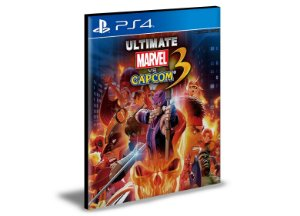 Ultimate Marvel vs. Capcom 3  Ps4  Psn  Mídia Digital