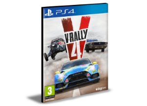 V-Rally 4 Ps4 e Ps5 Psn Mídia Digital