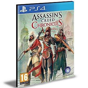 Assassin's Creed Chronicles Trilogy Ps4 e Ps5 PSN|MÍDIA DIGITAL