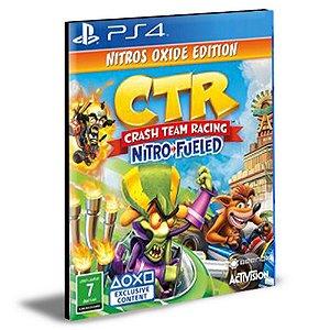 Crash Team Racing Nitro-Fueled Nitros Oxide Edition Português Ps4 e Ps5 Psn Mídia Digital
