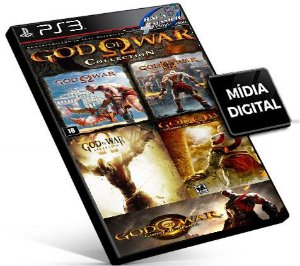 GOD OF WAR 1 + 2 + Ascension + Olympus + Ghost of Sparta | Ps3 | Psn | Mídia Digital