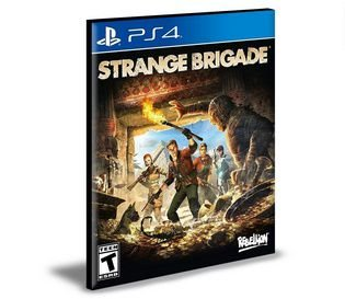 Strange Brigade Ps4 e Ps5 Psn  Mídia Digital