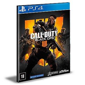 Call Of Duty Black Ops 4 Português Ps4 e Ps5 Psn  Mídia Digital