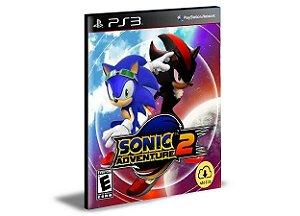 Sonic Adventure 2 Ps3 Psn Mídia Digital