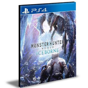 Dlc Monster Hunter World Iceborne Ps4 Português Mídia Digital