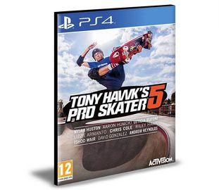 Tony Hawk's Pro Skater 5 PS4 e PS5 PSN MÍDIA DIGITAL