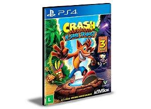 Crash Bandicoot N. Sane Trilogy | Ps4 | Psn | Mídia Digital