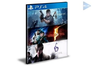 Resident Evil Triple Pack PS4 e PS5  PSN  MÍDIA DIGITAL